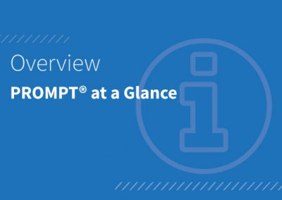 PROMPT® at a Glance